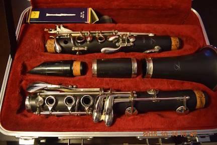 ★★★ Schreiber Clarinet 6010, Made in Germany,…