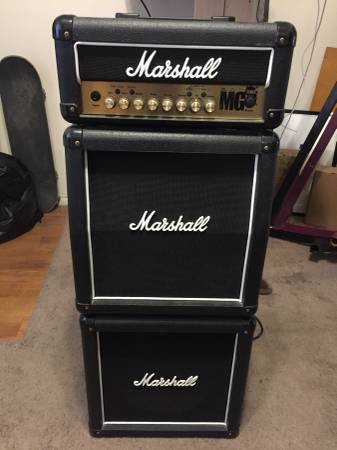 MARSHALL MG 15HFX Mini FULL STACK GUITAR AMPLIFIER