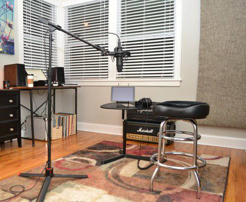 Recording Studio With Engineer – $50