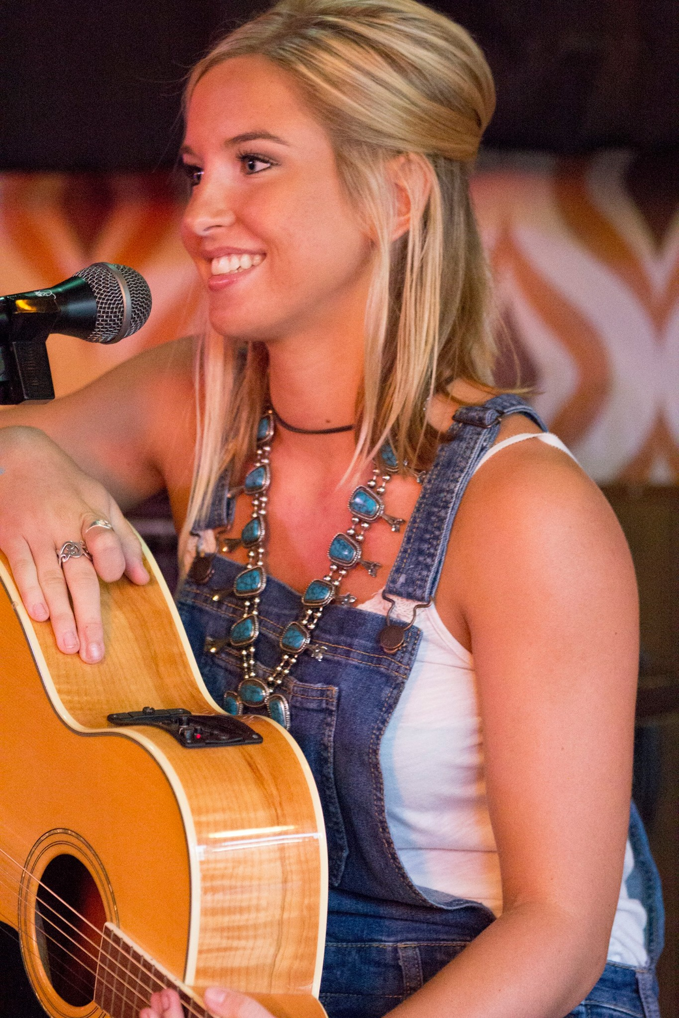 the hippie cowgirl songwriter, lily b moonflower