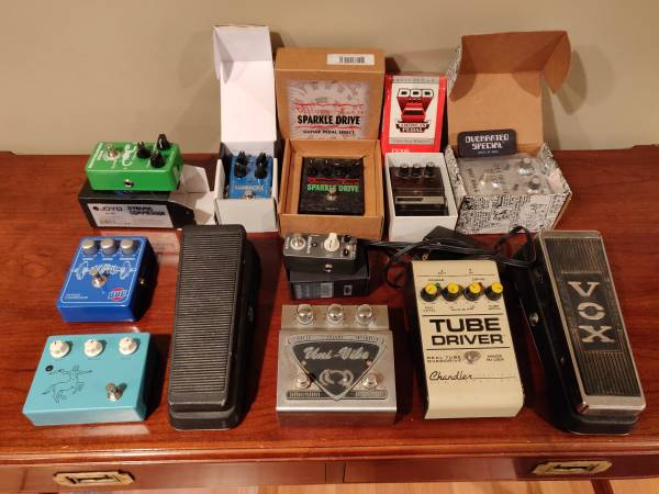 Guitar pedals: Overrated Special, Univibe, and more!
