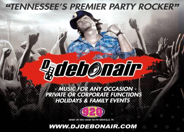 i106.7 DJ/Video-DJ 4Hire (references incl: KeithUrban & StevieWonder)
